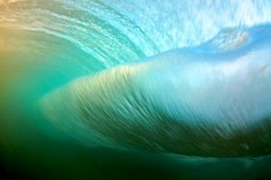 back of wave shot / wave art