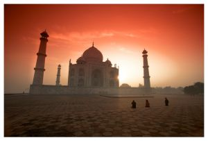Taj Mahal Sunrise / Taj Mahal Sunrise India