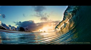 sunrise wave / wave photo